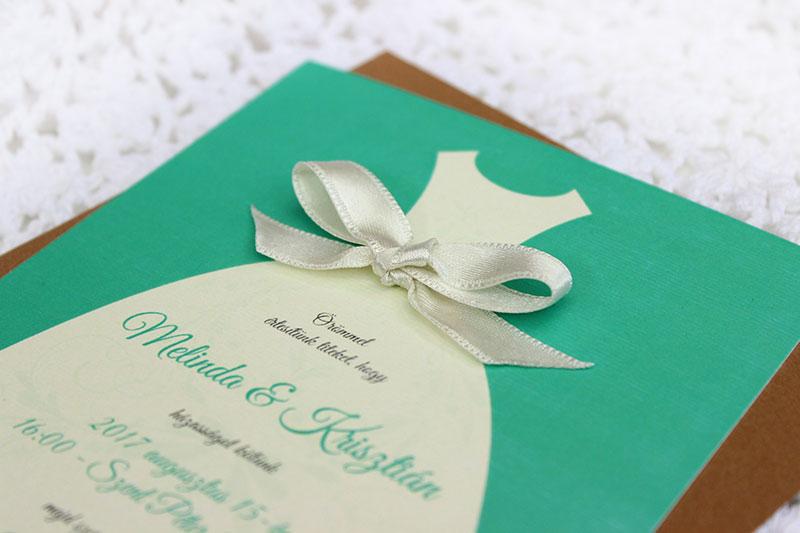 Kreatív Esküvői meghívó