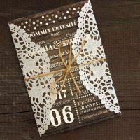 Esküvői meghívó - Kód 05