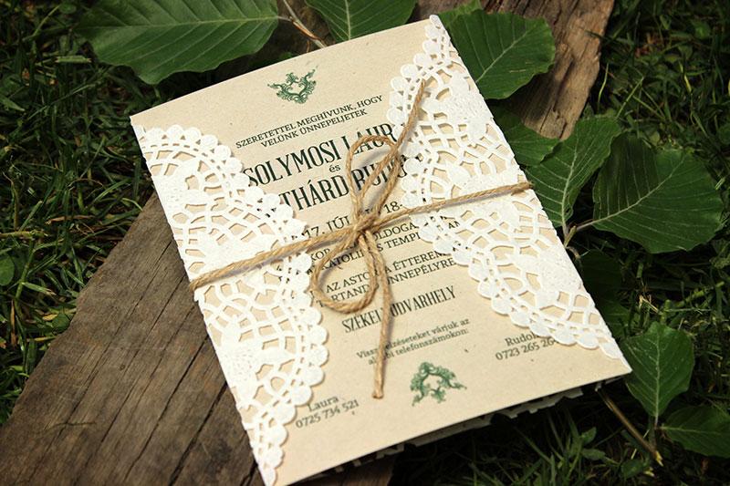 Esküvői meghívó - Kód 07