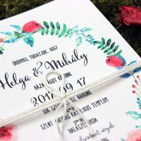 Esküvői meghívó - Kód 08
