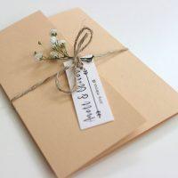 Modern Esküvői meghívó - Kód 023