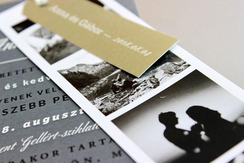Esküvői meghívó - Kód 024