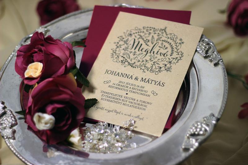 Esküvői meghívó 038