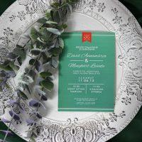 Egyedi Esküvői meghívó Székelyudvarhely - Kód 039